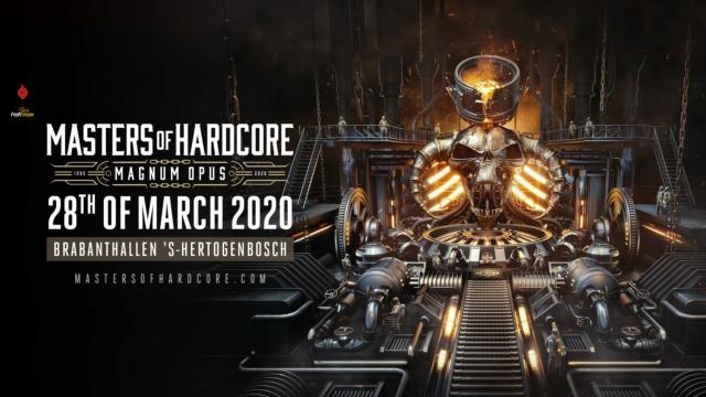 MASTERS OF HARDCORE - 28 Mars 2020 - Brabanthallen, Den Bosch - NL Master11