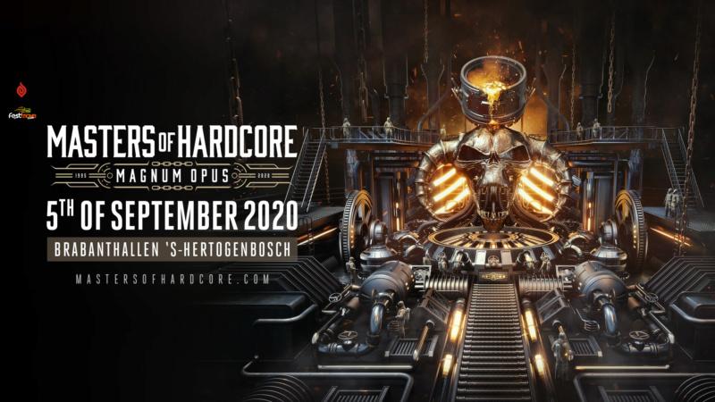 MASTERS OF HARDCORE - 5 septembre 2020 - Brabanthallen, Den Bosch - NL Master12
