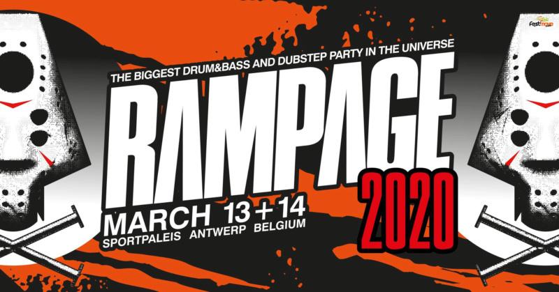 RAMPAGE WEEKEND - 13 & 14 mars 2020 - SPORTPALEIS ANVERS - BELGIQUE Rampag11