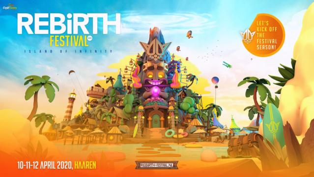 Rebirth Festival Weekend - 10-11-12 Avril 2020 - Raamse Akkers - Haaren - NL Rebirt10