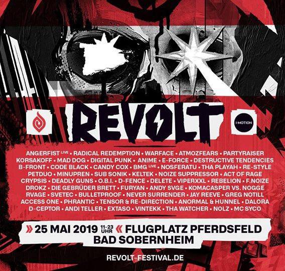 REVOLT festival - Samedi 25 Mai 2019 - Industriepark Pferdsfeld - Deutschland Revolt10