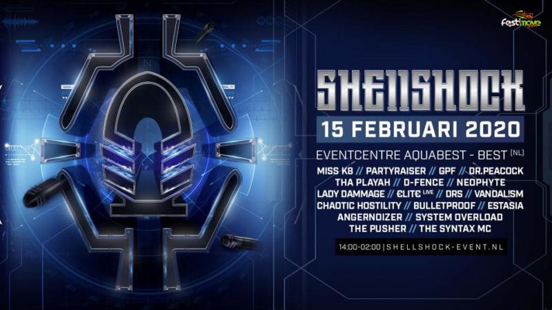 Shellshock 2020 - 15 Février 2020 - Eventcentre Aquabest - Best - NL Shells10