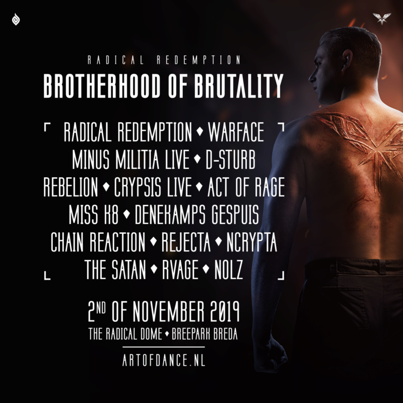 Radical Redemption Brotherhood Of Brutality - 2 Novembre 2019 - Radical Dome, Breepark Breda - NL Unname10