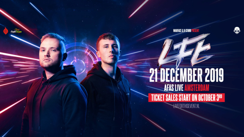 Warface & D-Sturb presents Live For This - 21 Décembre 2019 - AFAS Live - Amsterdam - NL Warfac11