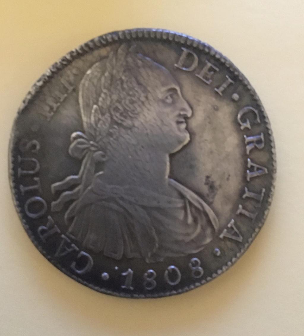 8 reales 1808. Carlos IIII.  FM Méjico 1-58_a11