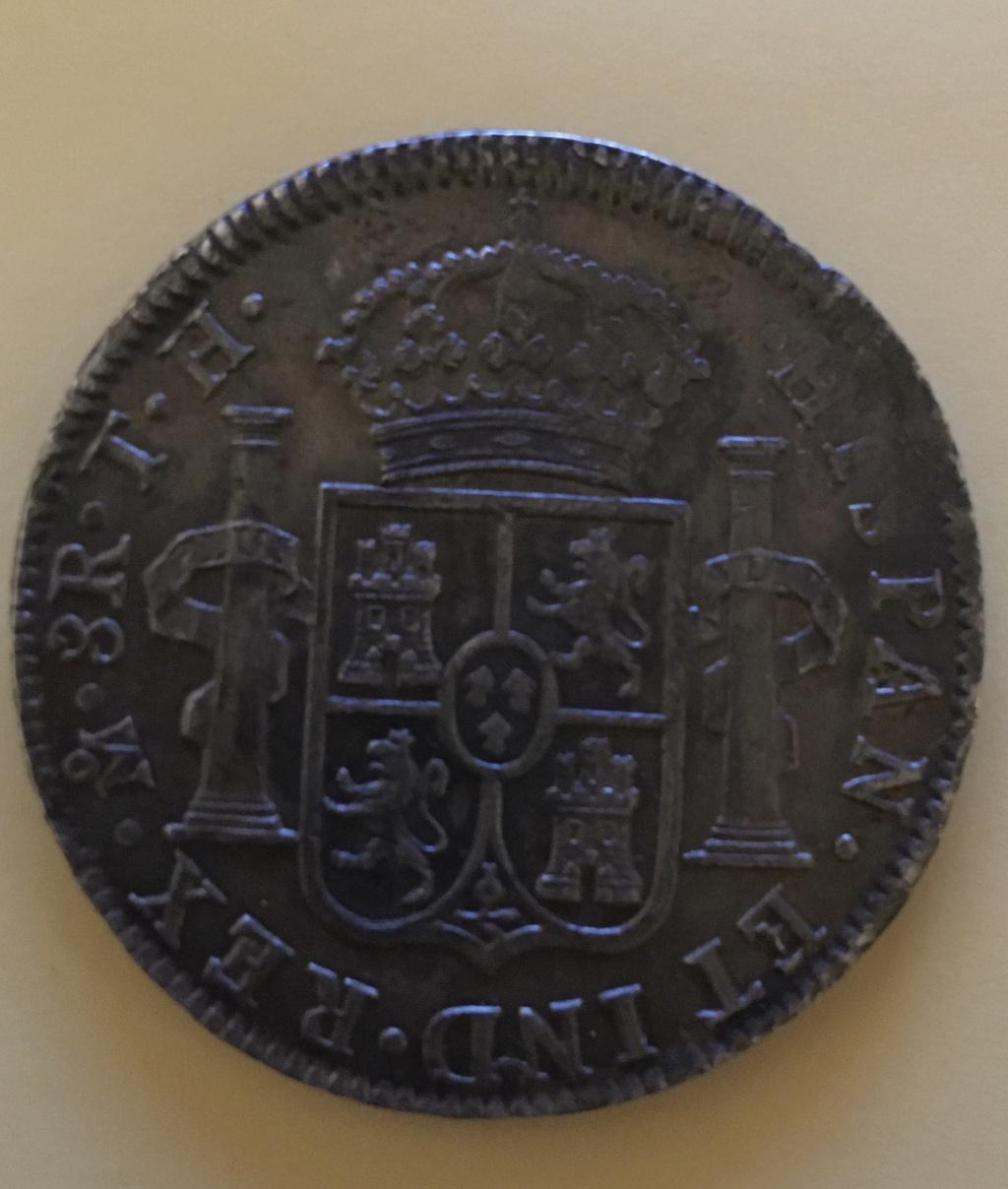 8 reales 1808. Carlos IIII.  FM Méjico 1-58_r11