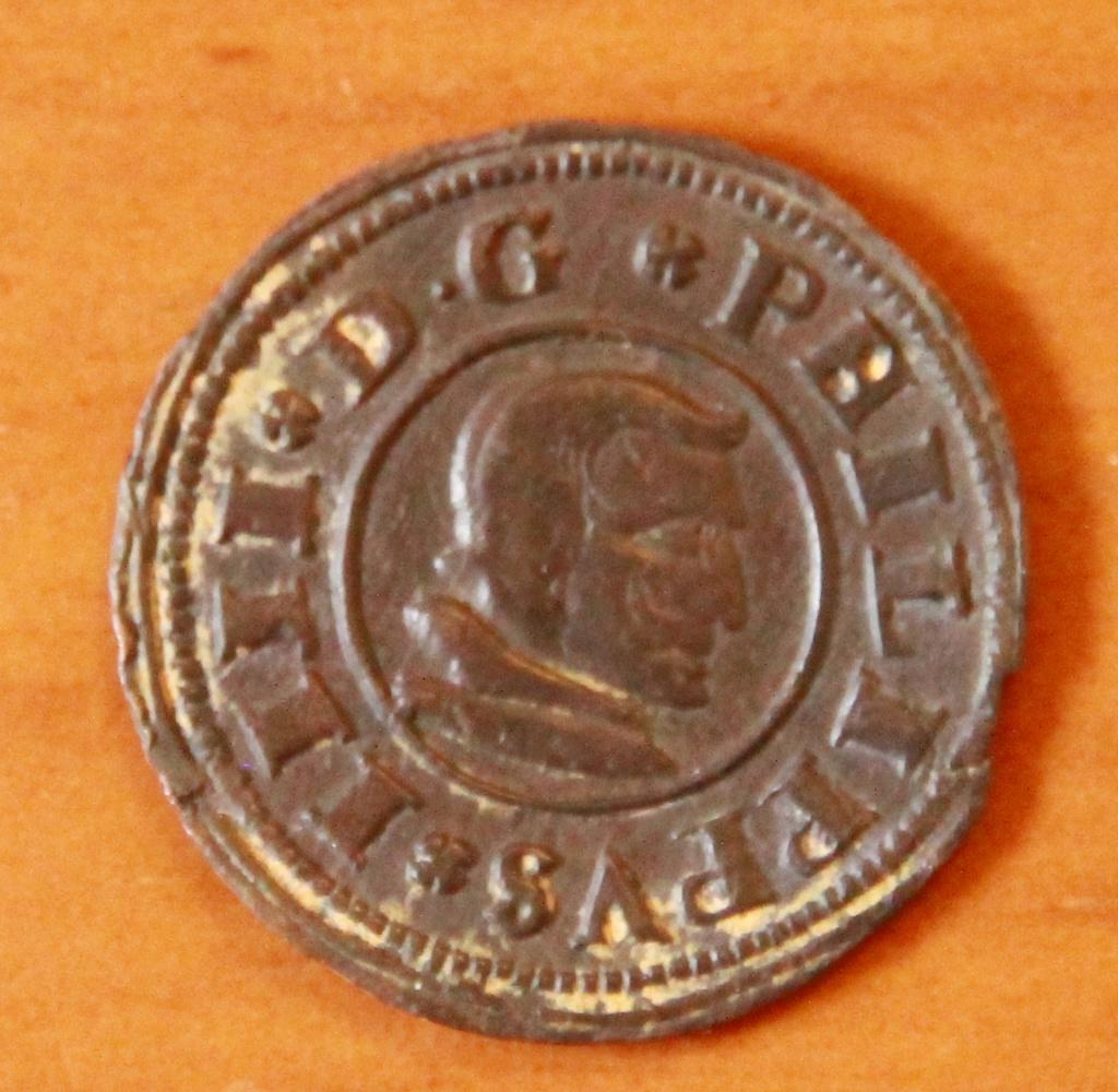 16 maravedies de Felipe IV de Segovia, 1661 14_anv10