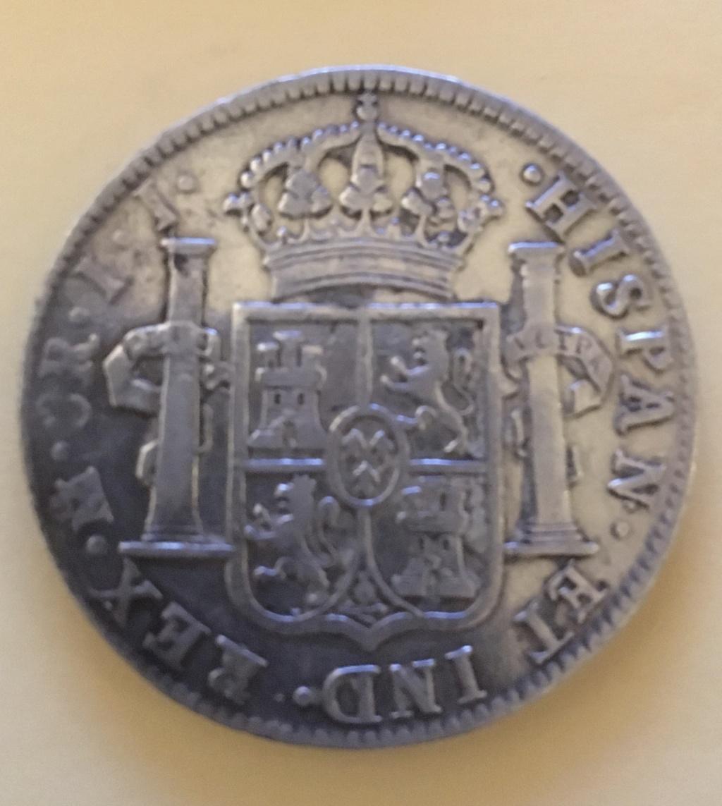 8 reales Fernando VII. 1821. Méjico. 2-55_r10