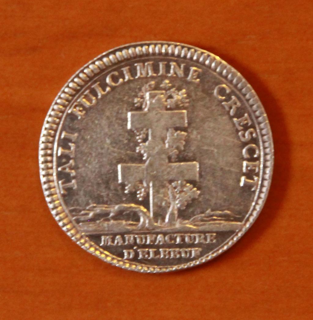 Jeton Luis XV. Elbeuf 24_rev10