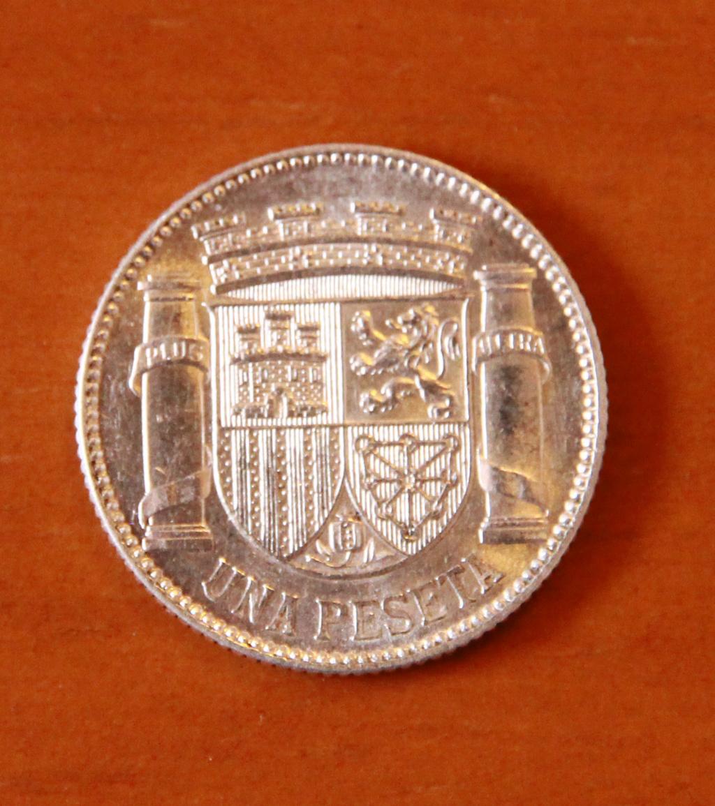 1 peseta 1933. República Española 26_rev10