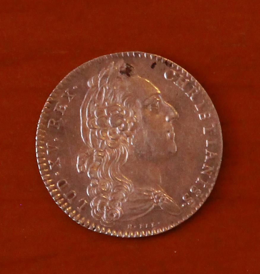 Jetón Luis XV. 1766 27_anv10