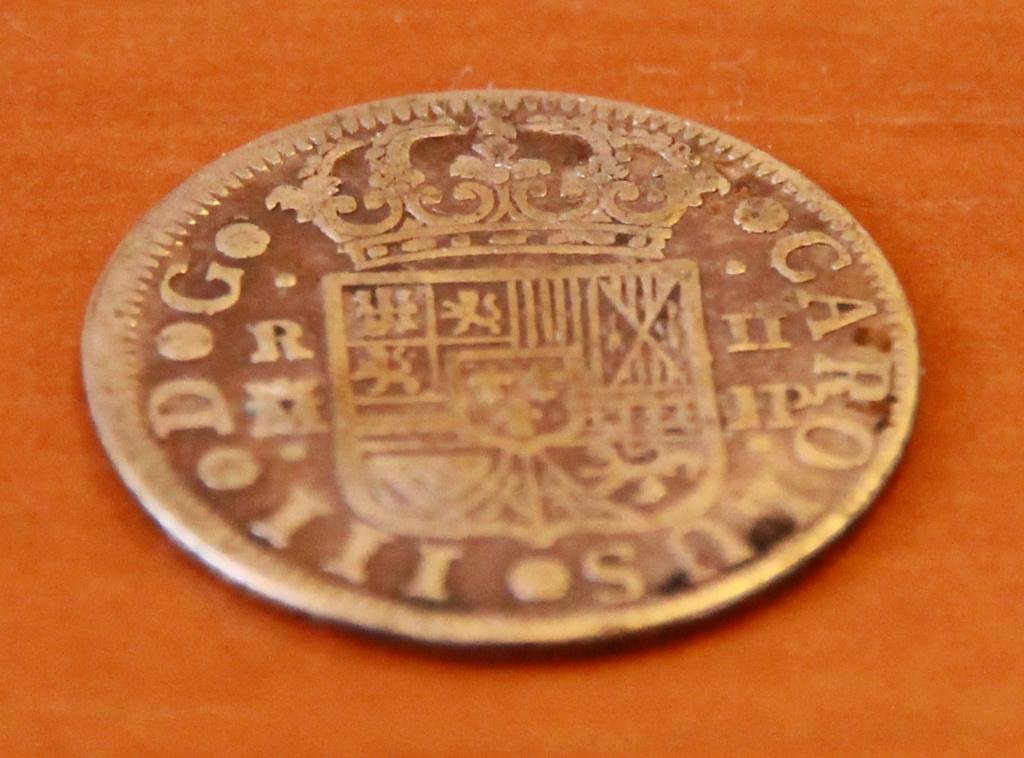 2 reales. Carlos III. 1761. Madrid. JP 28_det10