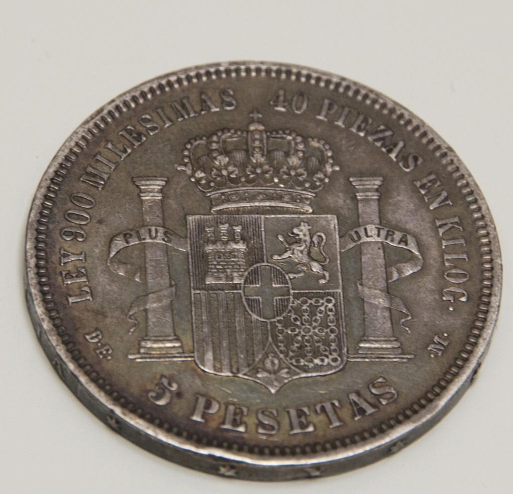5 pesetas 1871 (*18-75). Amadeo I 34_det10