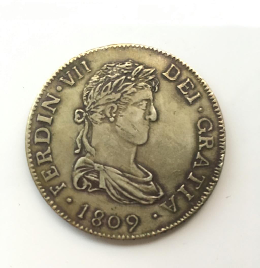 8 reales Fernando VII. Sevilla. 1809. Img_2912
