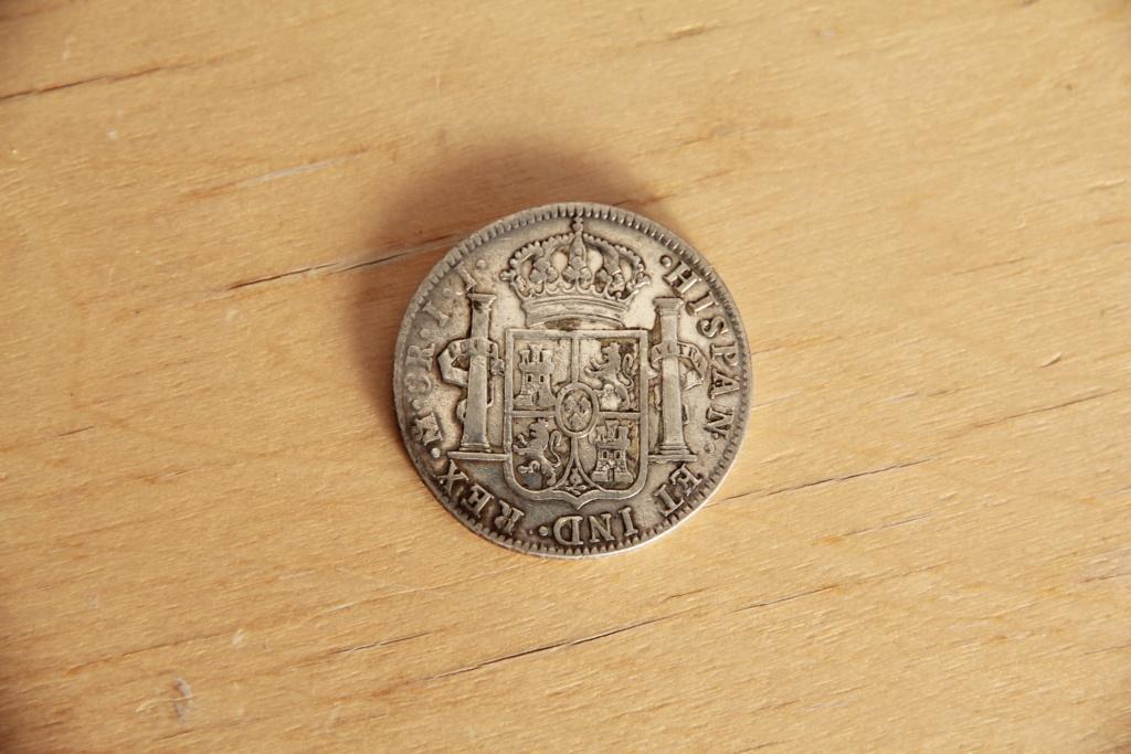 8 reales Fernando VII. 1821. Méjico. Img_4510