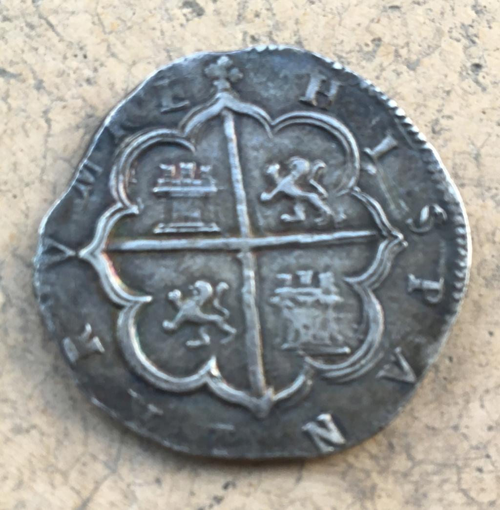 4 reales Felipe II. Toledo. Img_5510