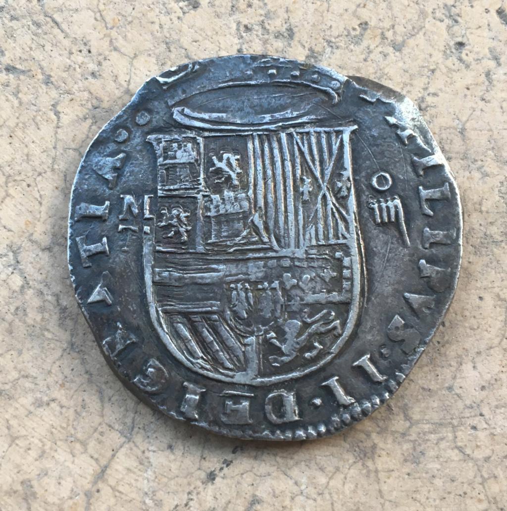 4 reales Felipe II. Toledo. Img_5511