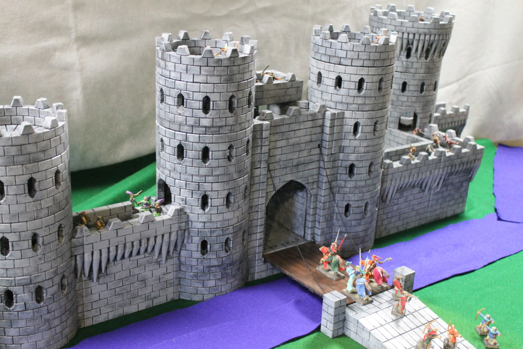 Additional 3D printed city walls pieces Img_2010