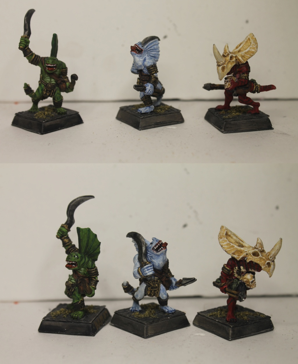 Doc's Lizardmen Warband Lizard11