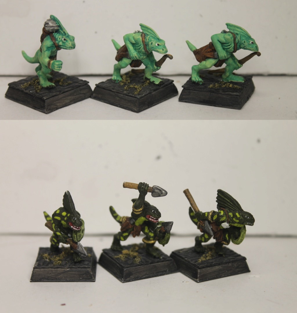 Doc's Lizardmen Warband Lizard14