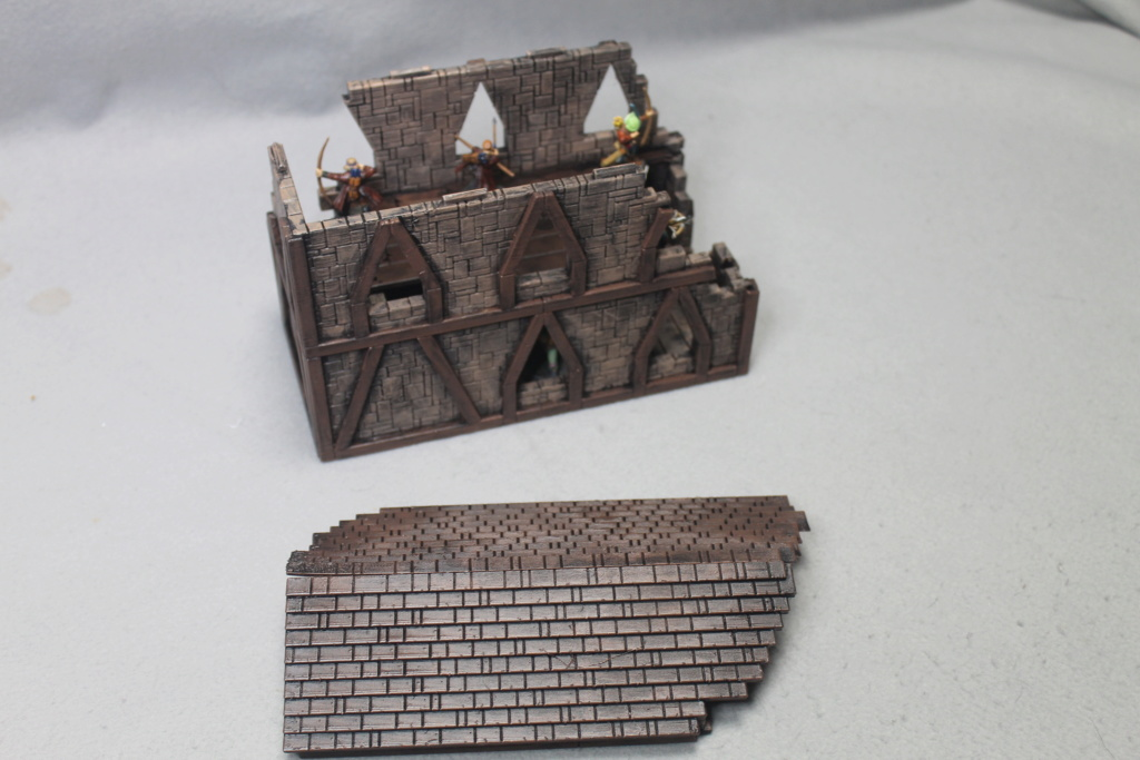 A few more 3d printed buildings Narrow10