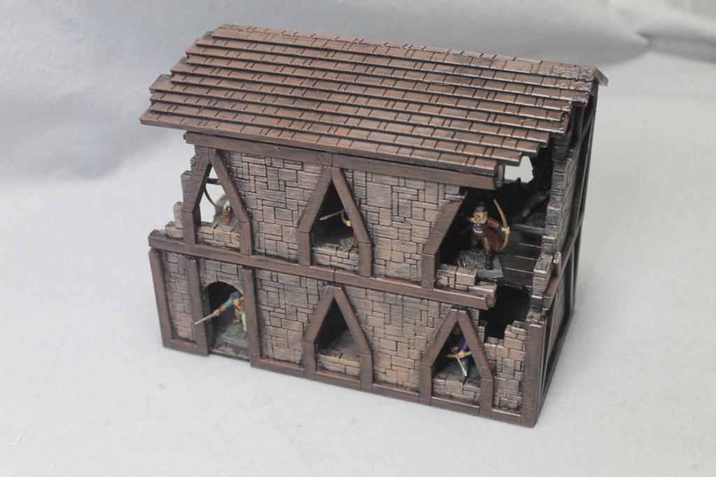 A few more 3d printed buildings Narrow11