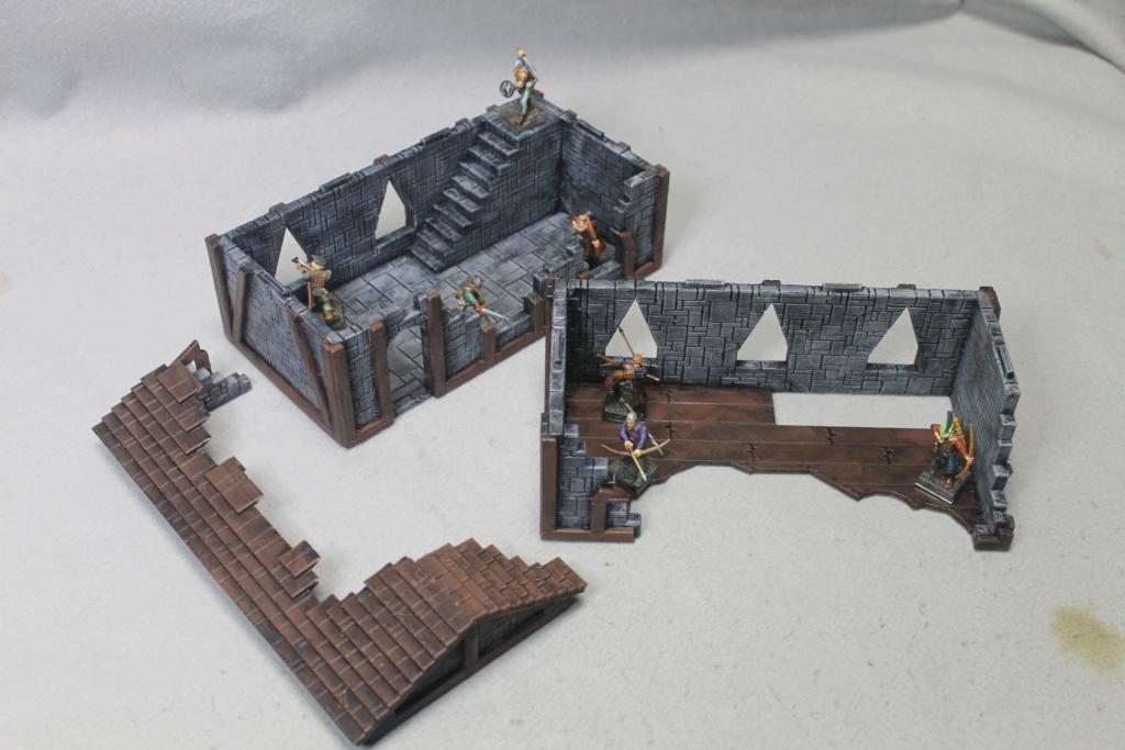 A few more 3d printed buildings Narrow15
