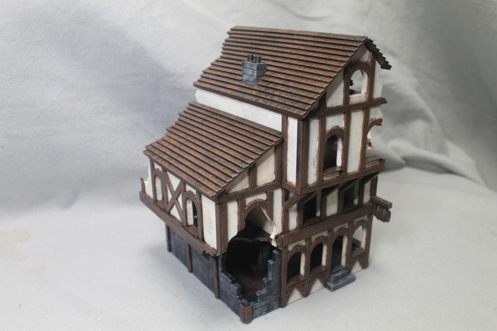 A few more 3d printed buildings Tavern12