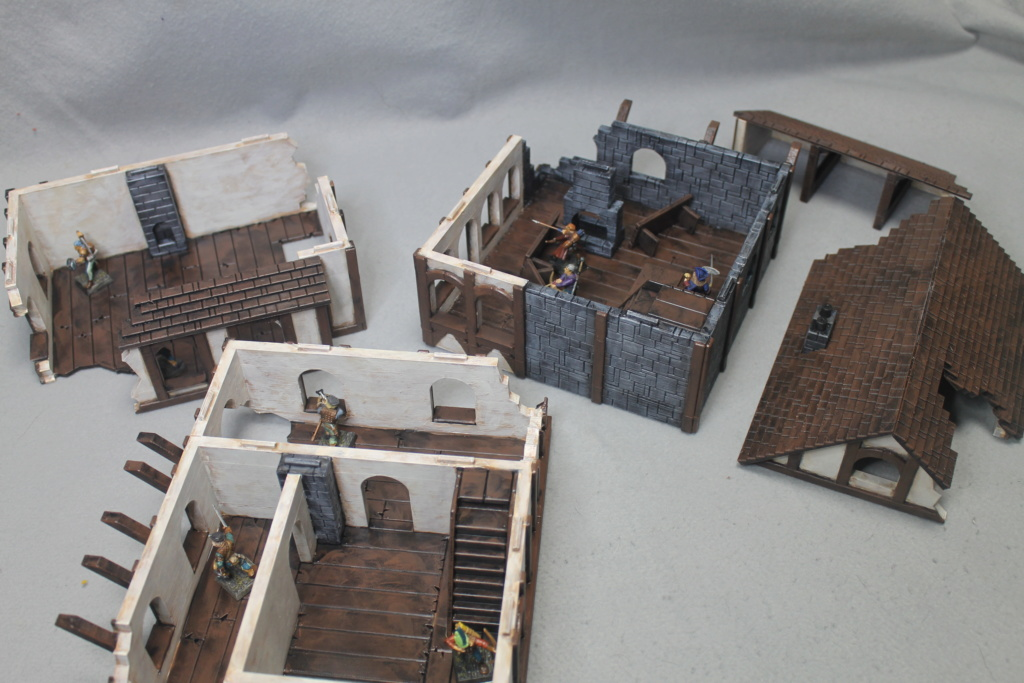 A few more 3d printed buildings Tavern14