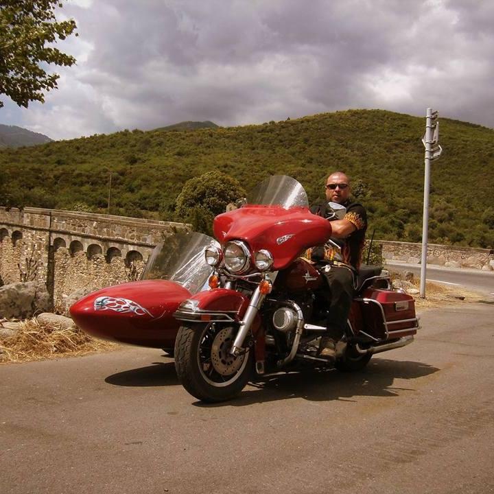 Les SIDE-CAR HARLEY et INDIAN 14522410