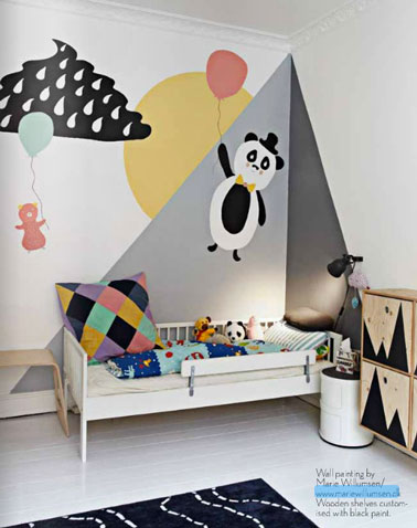 Idee peinture chambre enfant de 8ans Exempl10