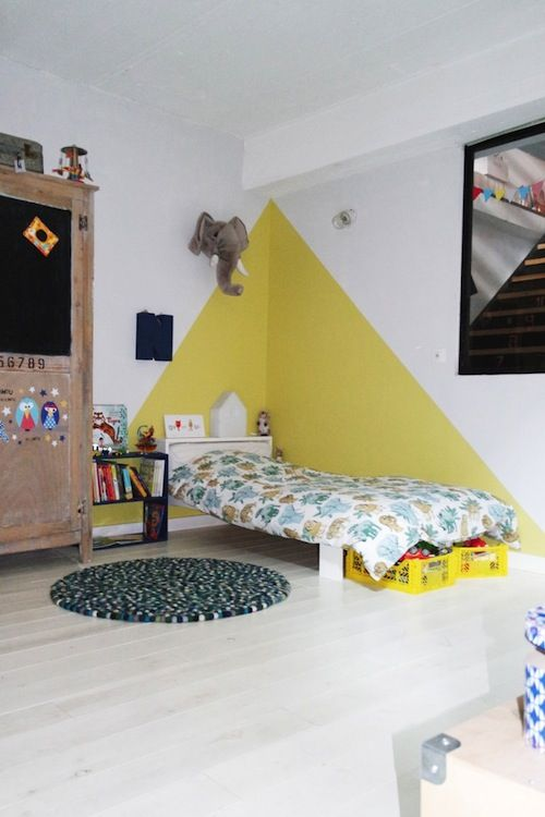 Idee peinture chambre enfant de 8ans Exempl11