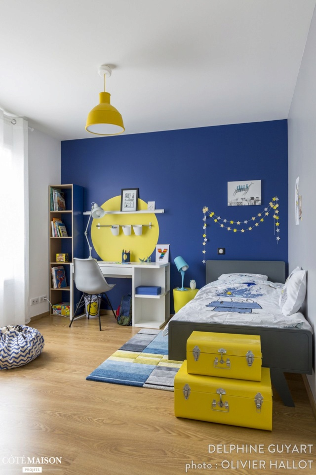 Idee peinture chambre enfant de 8ans Exempl14