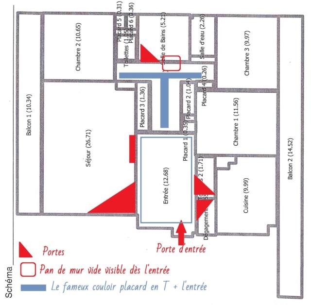 Comment décorer un couloir de placards intégrés Plan_a12