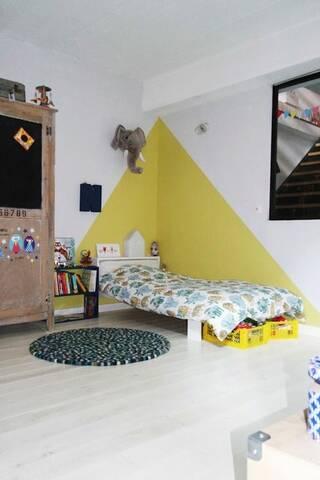 Idee peinture chambre enfant de 8ans