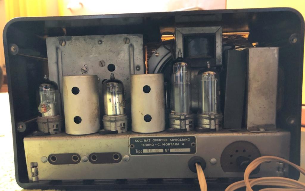 Radio valvolare Savigliano 5R 49 Img_3710