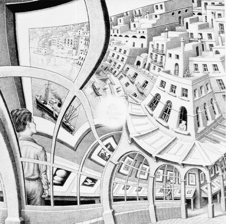 Maurits Cornelis Escher  Dessin10