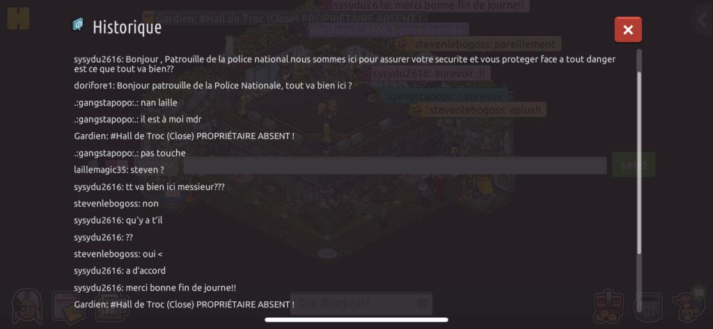 [P.N] Rapports de patrouilles de sysydu2616 249da110