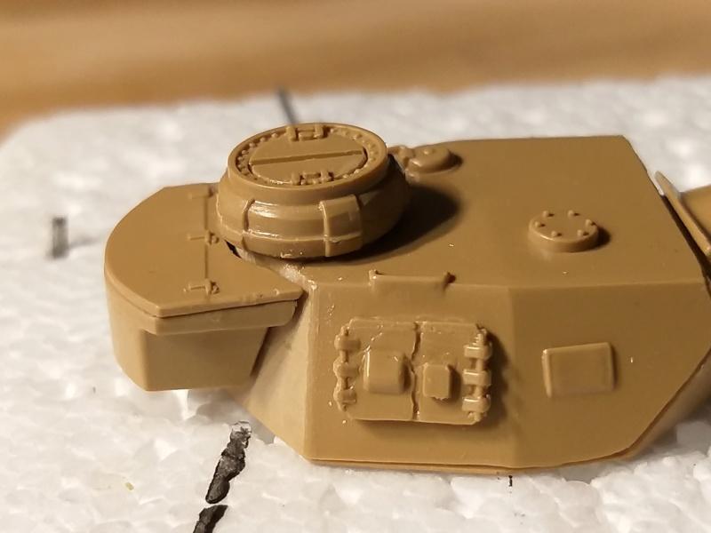 panzer - Panzer IV type F2 Airfix 1/72 20190710