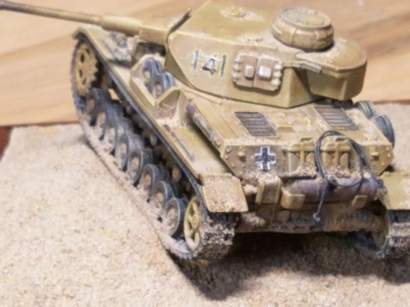 panzer - Panzer IV type F2 Airfix 1/72 20191224
