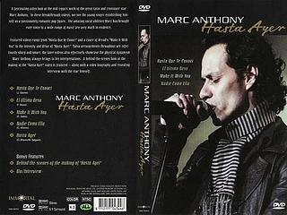 Marc Anthony: Hasta Ayer 2005 [DVD] M_a10