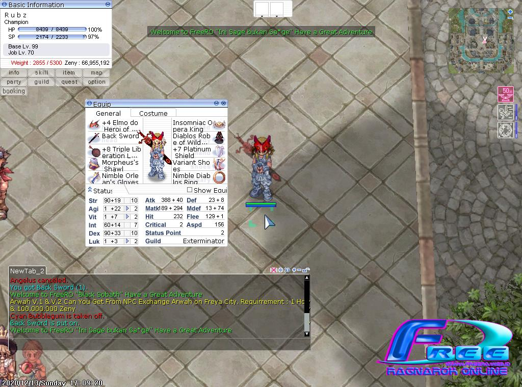 [Sayembara] Tutorial Build Job CHAMPION Screen20