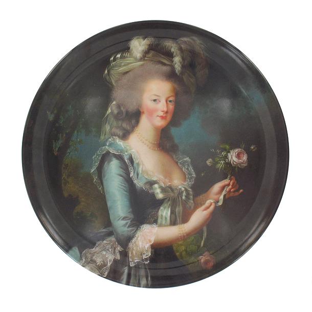 Assiette Marie-Antoinette à la rose 41562_10