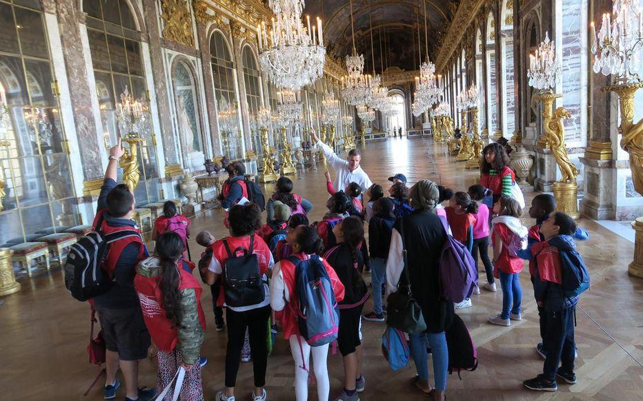 Versailles : un Lundi enchanté pour les enfants sans vacances Zfer14