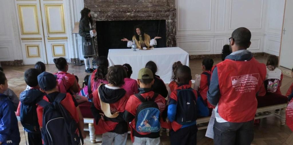 Versailles : un Lundi enchanté pour les enfants sans vacances Zfer15
