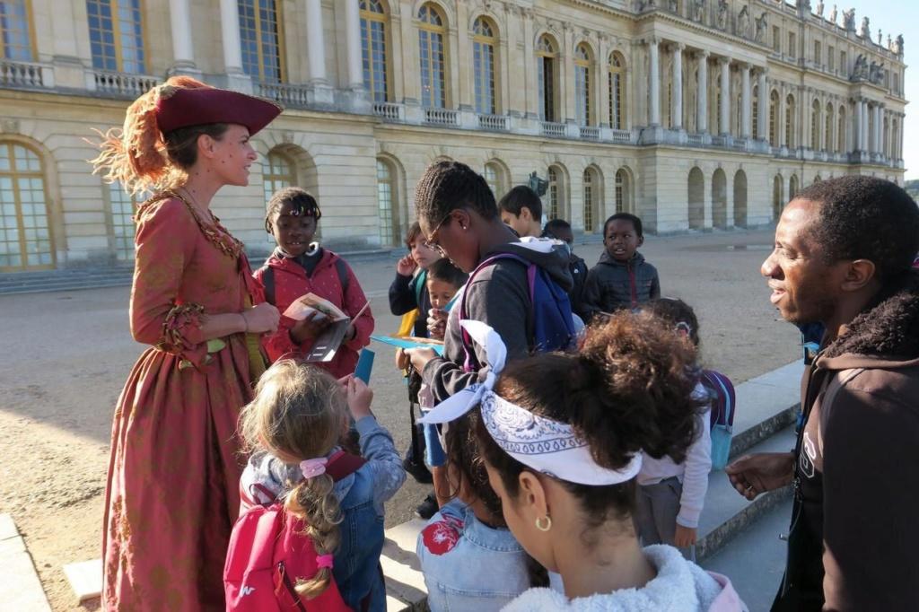 Versailles : un Lundi enchanté pour les enfants sans vacances Zfer16