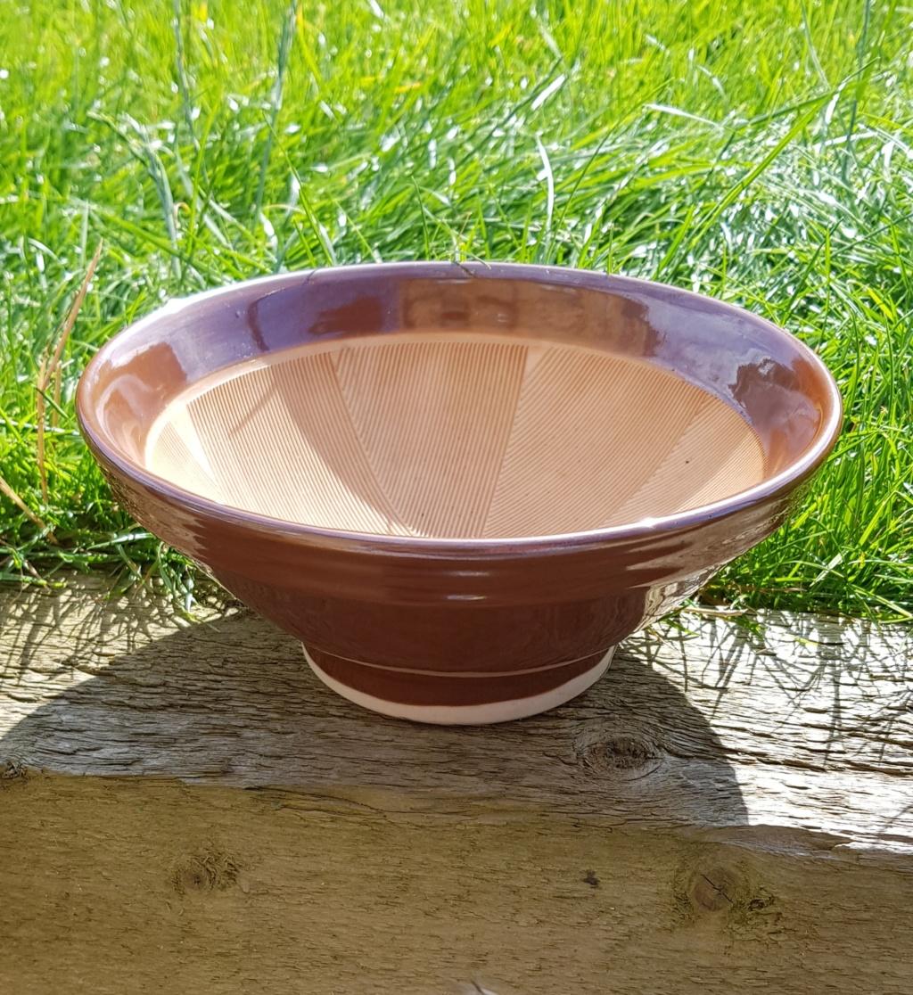 Japanese grinding bowl/mortar (Suribachi) 20190820