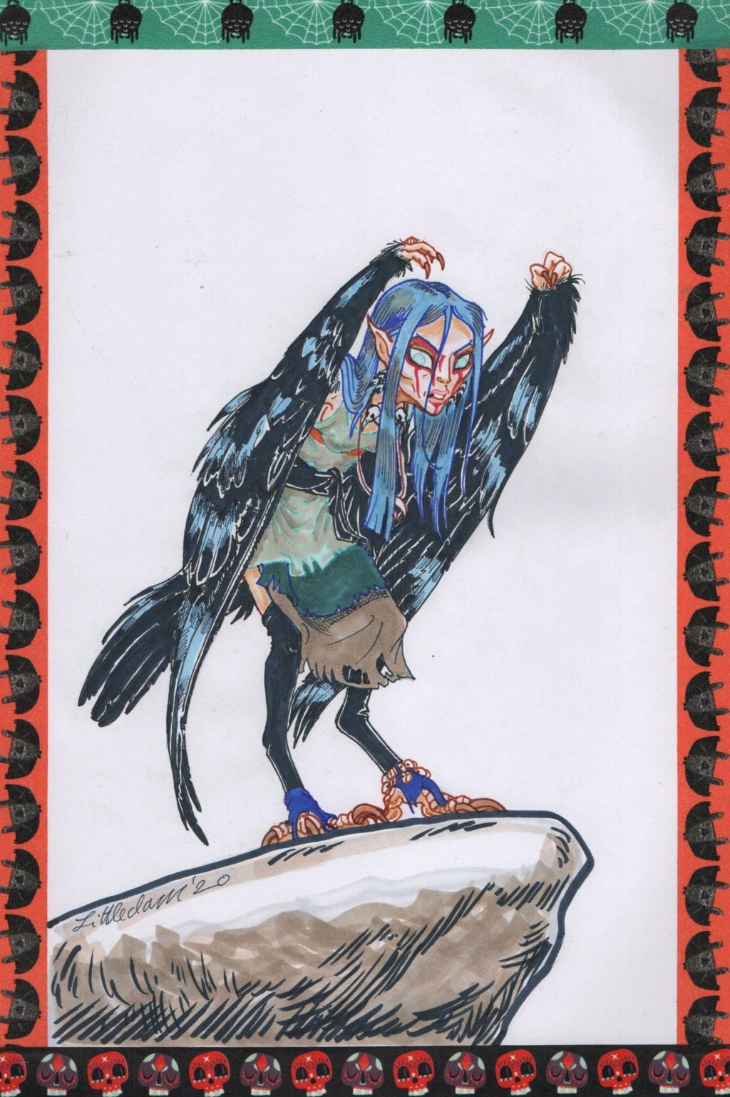 """October 2020 """"Grab bag"""" stories   poetry   art  Harpyr14"""