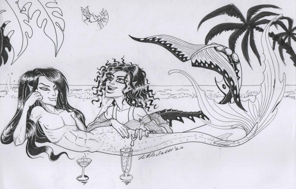 Yeee`s sketchbook - Page 16 Mermay60