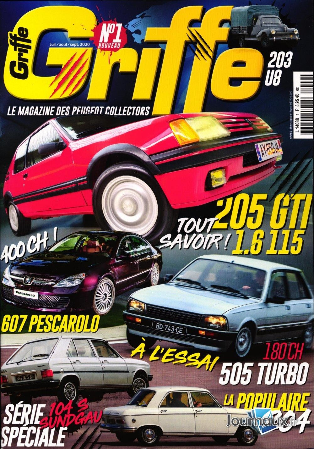 Magazine Griffe Big-8410